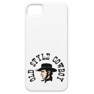 Complete with black hat: Vintage old style Cowboy iPhone SE/5/5s Case