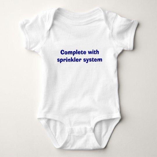 Complete with sprinkler system baby bodysuit