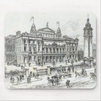 Completed buildings of the People's Palace Mouse Pad