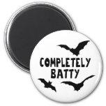 Completely Batty Fridge Magnets