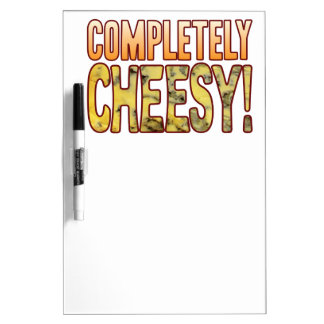 Completely Blue Cheesy Dry Erase Board