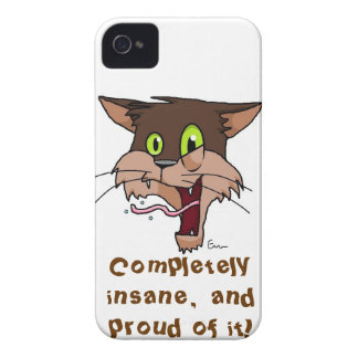Completely Insane Cat Case-Mate iPhone 4 Cases