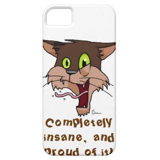 Completely Insane Cat iPhone SE/5/5s Case