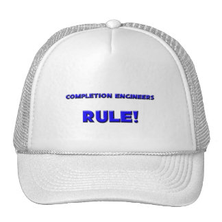 Completion Engineers Rule! Mesh Hat