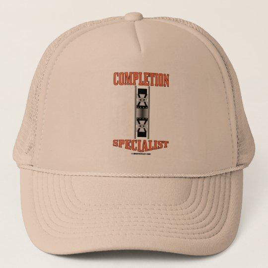 Completion Specialist,Oil Well Packers,Rigs Trucker Hat