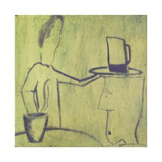 ~ completo el 1/2 del 1/2 vacío lienzo envuelto para galerías