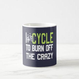 Completo un ciclo para consumir el loco taza de café