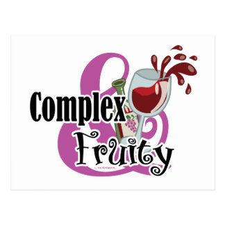 Complex and Fruity Postcard