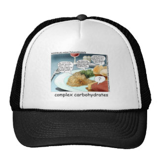 Complex Carbohydrates Funny Mugs Cards Tees Etc Trucker Hat