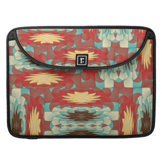 Complex colorful pattern MacBook pro sleeve