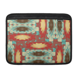 Complex colorful pattern sleeve for MacBook air