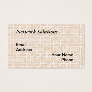 Complex Computer Motherboard Background Business Card