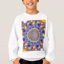 Complex Fractal Pattern: Sweatshirt
