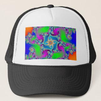 Complex Fractal Pattern: Trucker Hat