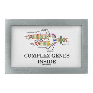Complex Genes Inside (DNA Replication) Belt Buckle