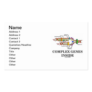 Complex Genes Inside (DNA Replication) Business Card