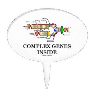 Complex Genes Inside (DNA Replication) Cake Topper