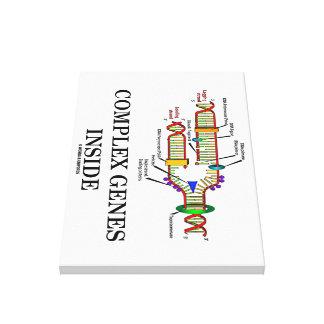 Complex Genes Inside (DNA Replication) Canvas Print