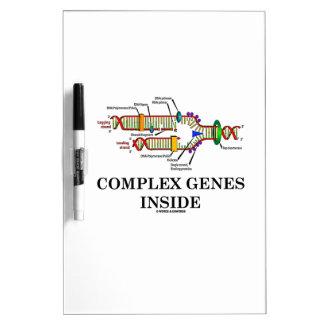 Complex Genes Inside (DNA Replication) Dry-Erase Board