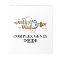 Complex Genes Inside (DNA Replication) Note Pad