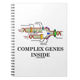 Complex Genes Inside (DNA Replication) Notebook