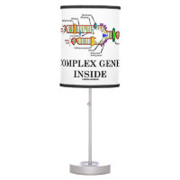 Complex Genes Inside (DNA Replication) Table Lamp