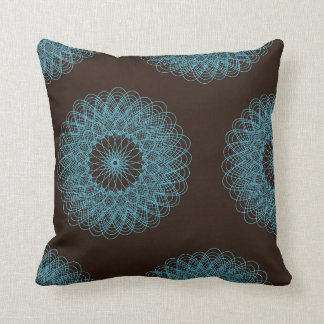 Teal And Brown Pillows - Teal And Brown Throw Pillows Zazzle