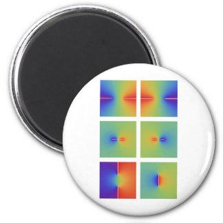 Complex inverse trigonometric functions 2 inch round magnet