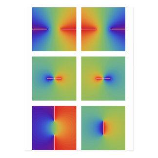 Complex inverse trigonometric functions postcards