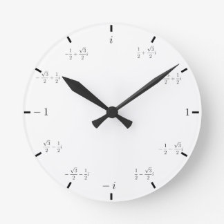 Complex Math Clock
