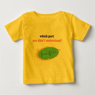 Complex Math Equation Baby T-Shirt