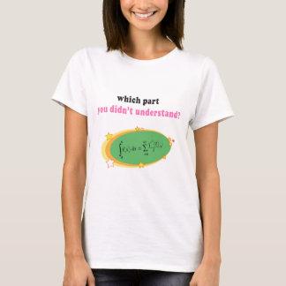 Complex Math Equation T-Shirt