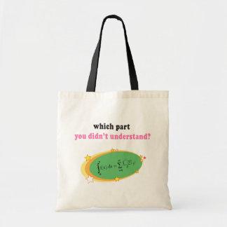 Complex Math Equation Tote Bag