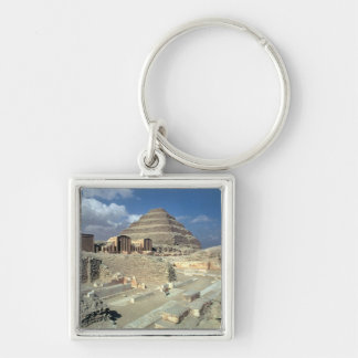 Complex of Djoser including the Step Pyramid Keychain