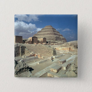 Complex of Djoser including the Step Pyramid Pinback Button