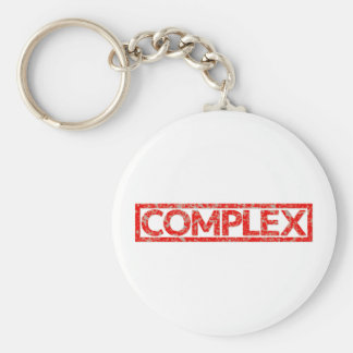 Complex Stamp Keychain