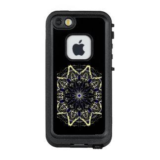Complex Star Light Yellow Color Wheel LifeProof FRĒ iPhone SE/5/5s Case