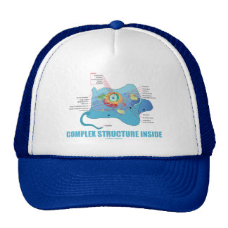 Complex Structure Inside (Eukaryotic Cell) Trucker Hats