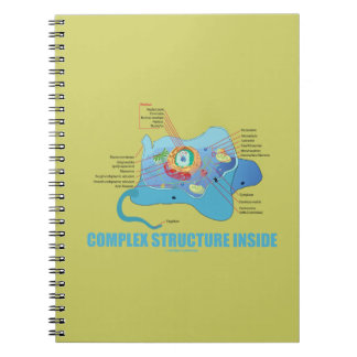 Complex Structure Inside (Eukaryotic Cell) Journal