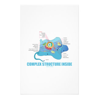 Complex Structure Inside (Eukaryotic Cell) Stationery