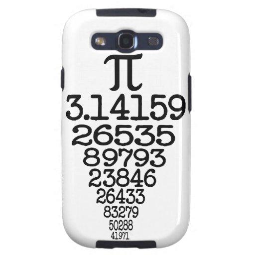 Compleye 3,14 del día del pi galaxy s3 protector