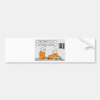 compliance federal guideline prisoners bumper sticker