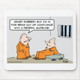 compliance federal guideline prisoners mousepads