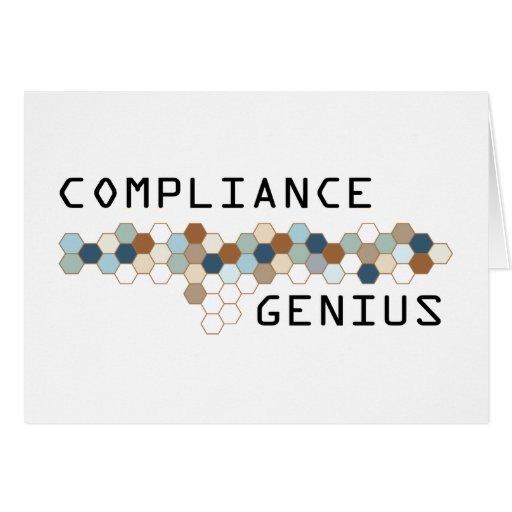 Compliance Genius Card