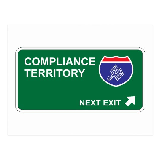Compliance Next Exit Postcard