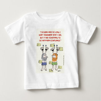 compliance non-compliance hanging prisoners baby T-Shirt