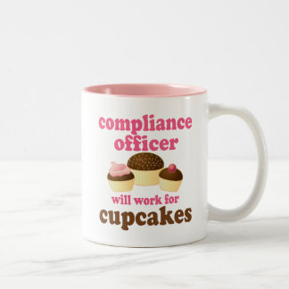 Compliance Officer (Funny) Gift Two-Tone Coffee Mug