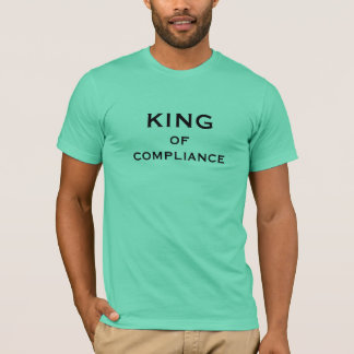 Compliance Officer Funny Nickname - King Male T-Shirt