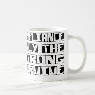 Compliance Survive Classic White Coffee Mug