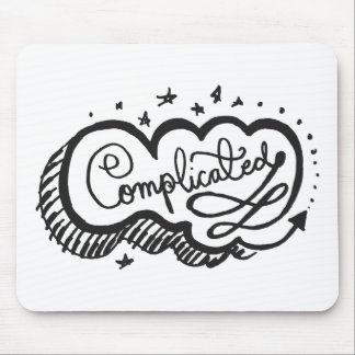 Complicated 1 mouse pad